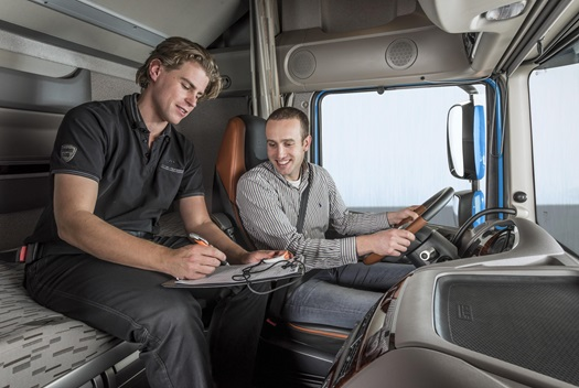 DAF-Driver-training